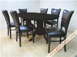 DOLLY WITH OVAL SHAPE TABLE